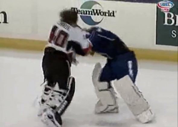 Goalie Fight